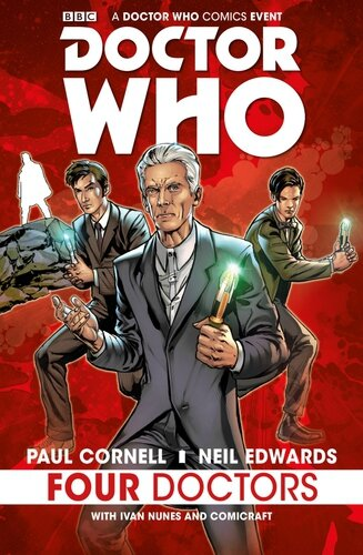 titans doctor who four doctors HC