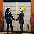 Cosplay Eraser Head et Present Mic (My Hero Academia)