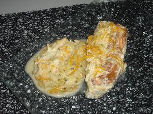 papilotte saumon