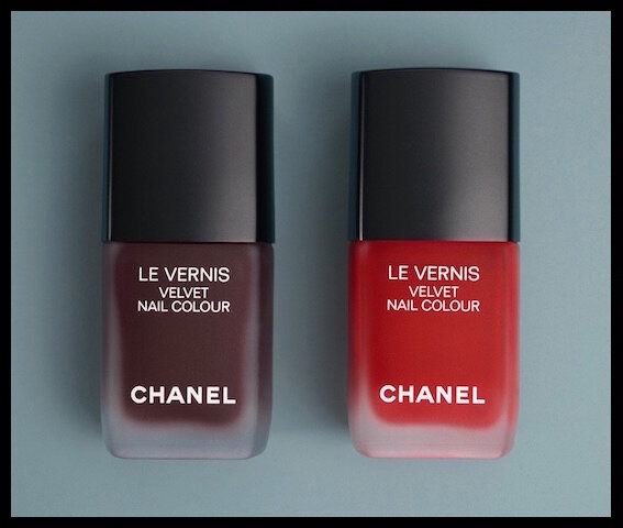 chanel velvet nail colour