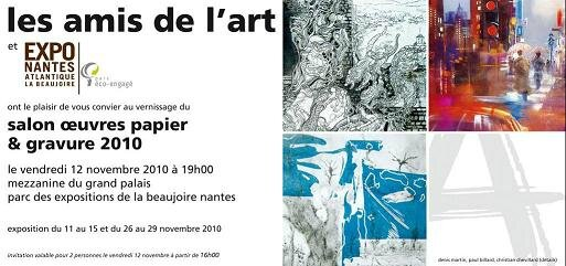 Carton Invitation Nantes Paint