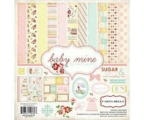 carta-bella-baby-mine-girl-12x12-inch-collection-k