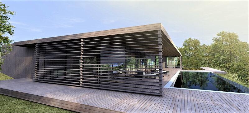 Gianni Fasciani maison contemporaine Aix-en-Provence