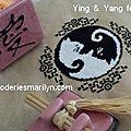 Ying et yang félin