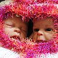 2013 - bébé reborn 2013 - les petits jumeaux (adoptés)