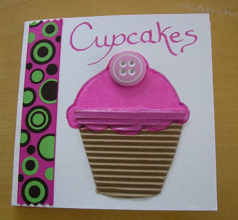 Carte Cupcakes