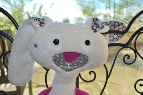 doudou lapin snood camille 002