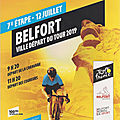 Tour de france 2019, belfort se collectionne !