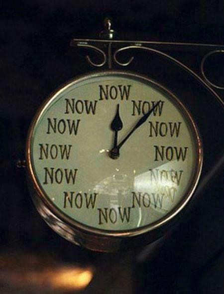 Instant-présent-horloge
