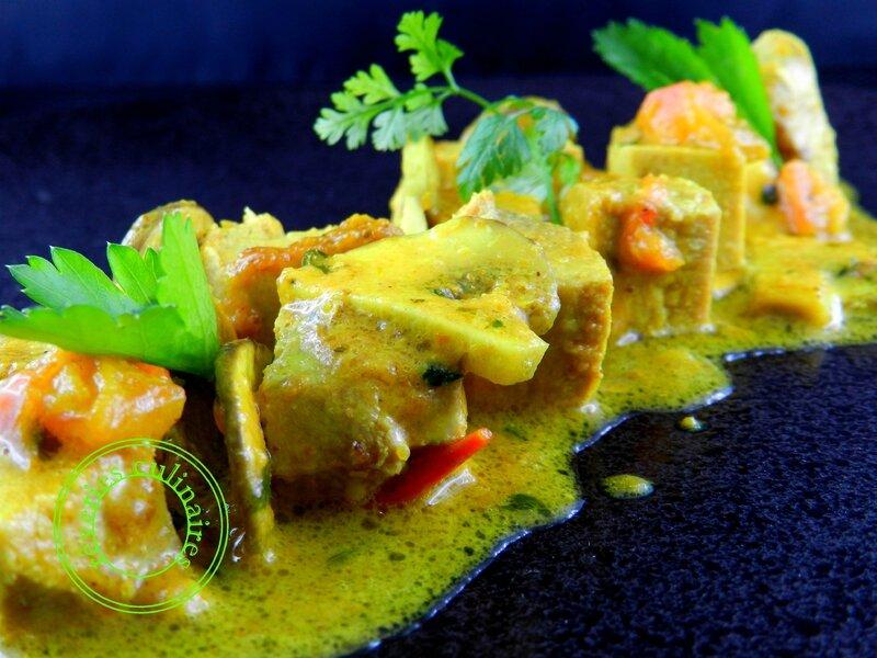 curry de thon grillé 2