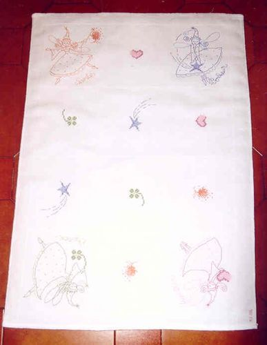 2004 05 - Les fées du baptême de Flore, modèle DFEA