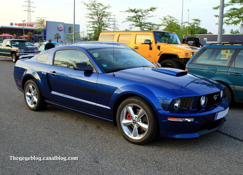 Ford mustang california special GT-CS (Rencard Burger King mai 2011) 01