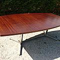 table design années 1960 1970