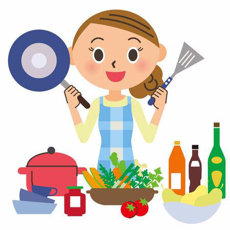 35588256-stock-vector-housewife-who-cooks