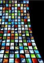 TV screen wall2