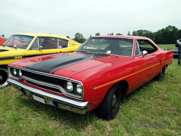 plymouth road runner hardtop coupe 1970 a