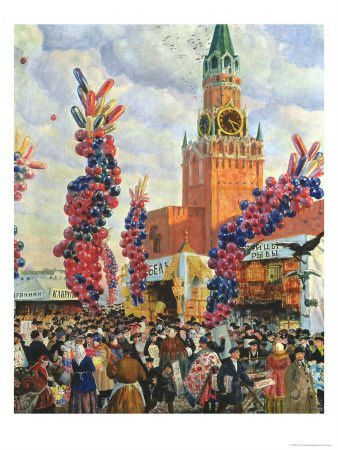 b-m-kustodiev-easter-market-at-the-moscow-kremlin-1917