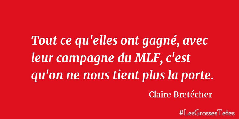 Citation Claire Bretécher