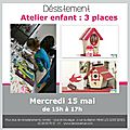 ateliers enfants f te des m res decoavenue le blog. Black Bedroom Furniture Sets. Home Design Ideas