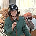 C'est dimanche & elise fait de l'équitation avec trott'autrement