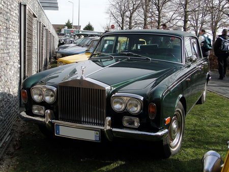 ROLLS ROYCE Silver Shadow 1965 a 1980 salon champenois du véhicule de collection de Reims 2011 1
