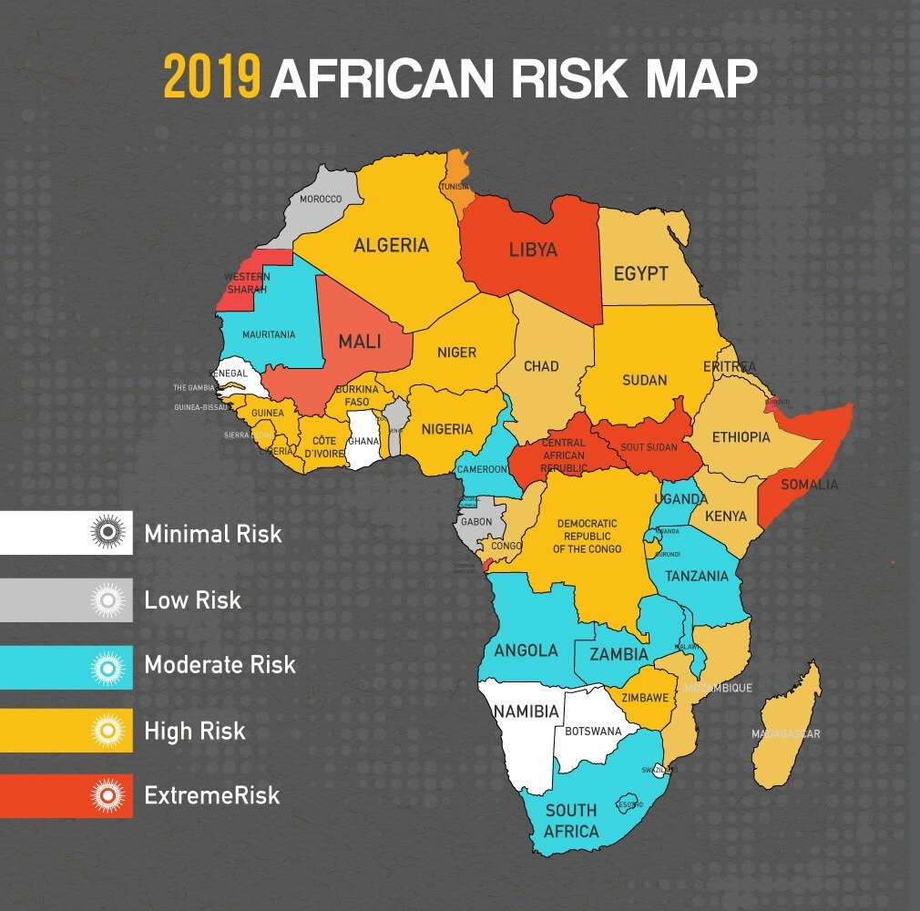 African Travel Risk, 2019