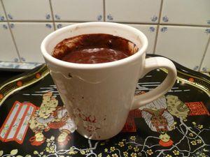 CAKE AU CHOCOLAT EN MUG 1