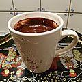 Cake au chocolat en mug