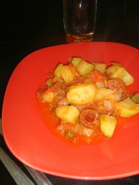 mijoté de légumes au chorizo 1