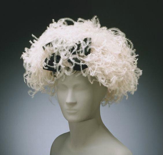 Woman's Hat by Cristóbal Balenciaga, Winter 1962