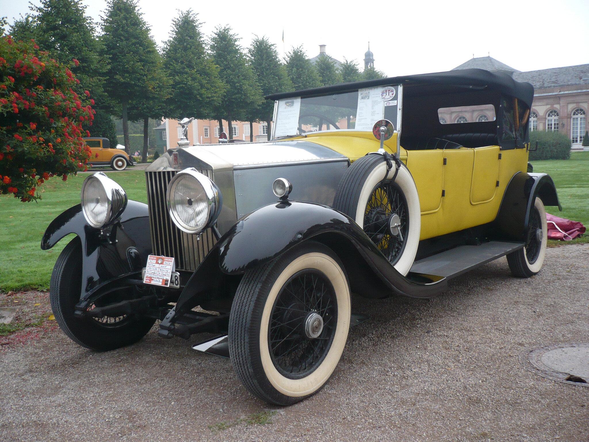ROLLS ROYCE 20/25HP Wilkinson Open Tourer 1930 Schwetzingen (1)