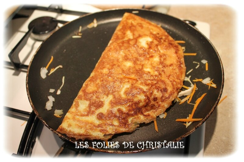 Omelettes chinoises 6