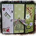 Mini album de noël scrapé !