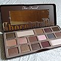 Chocolate bar-too faced