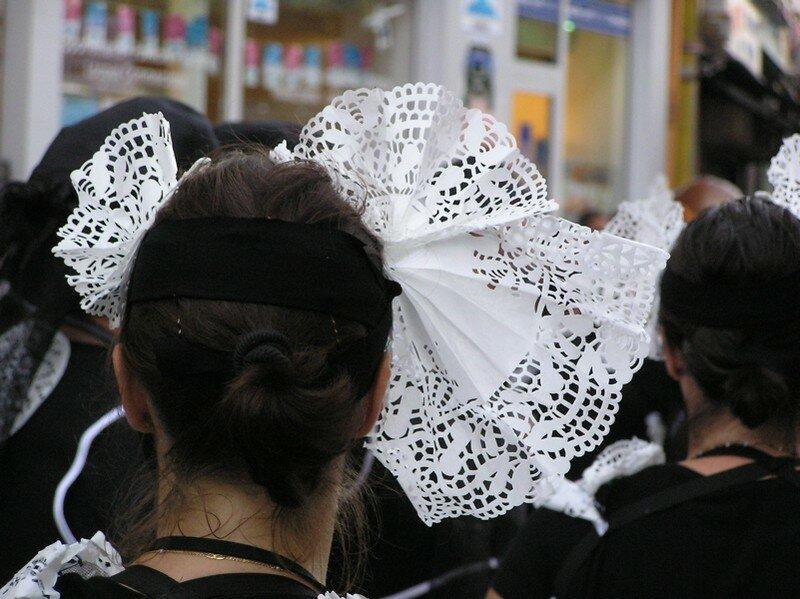 Nos coiffes en papier !