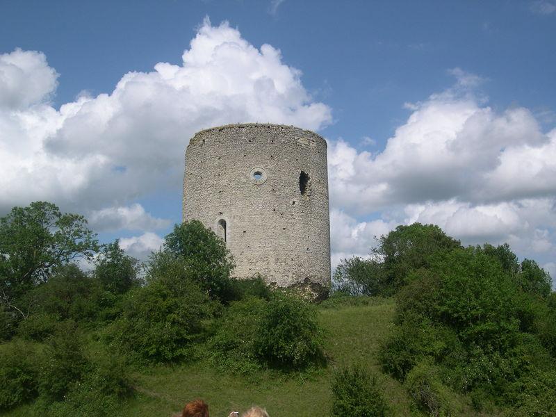 La tour du château de Neaufles