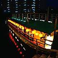 Tokyo - Diner croisière Yakatabune Funasei