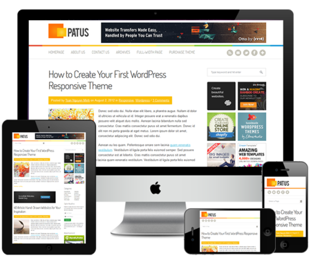 Patus_wordpress_theme