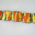wacomo bracelet pastilles carrées