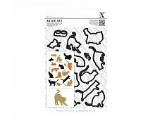 xcut-a5-die-set-16pcs-mixed-cats-xcu-503249