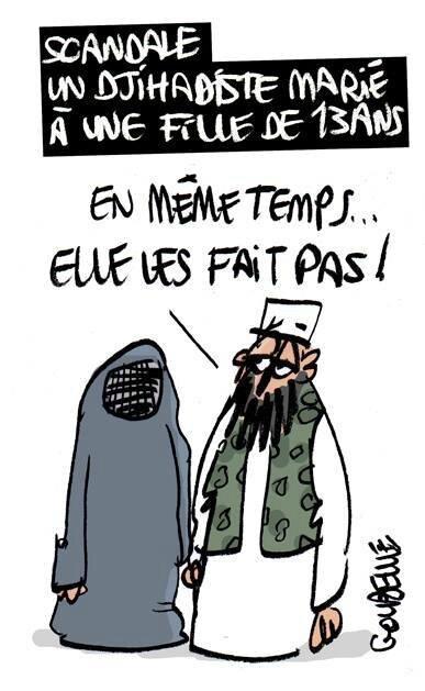 islam humour daech burka
