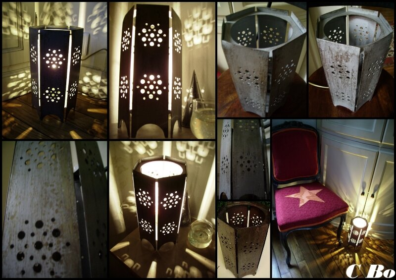 lampe moucharabier montage