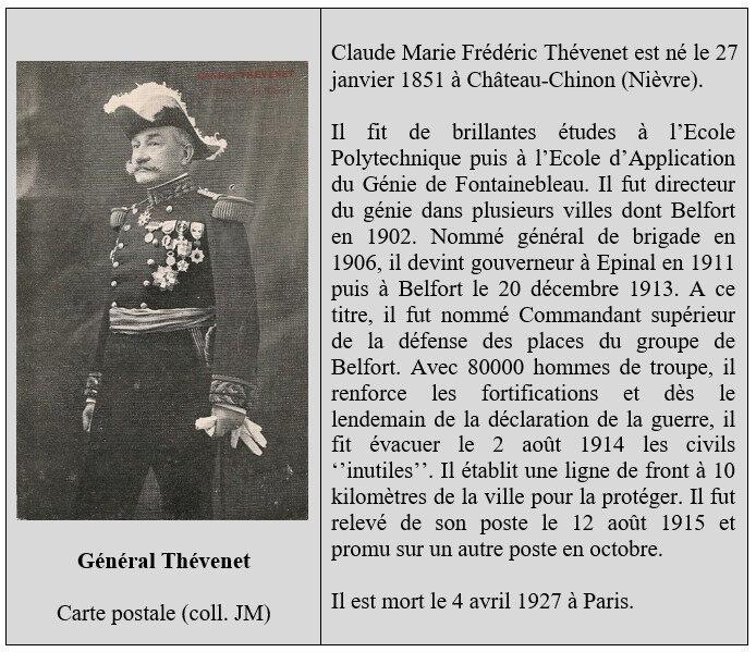 Bio Général Thévenet