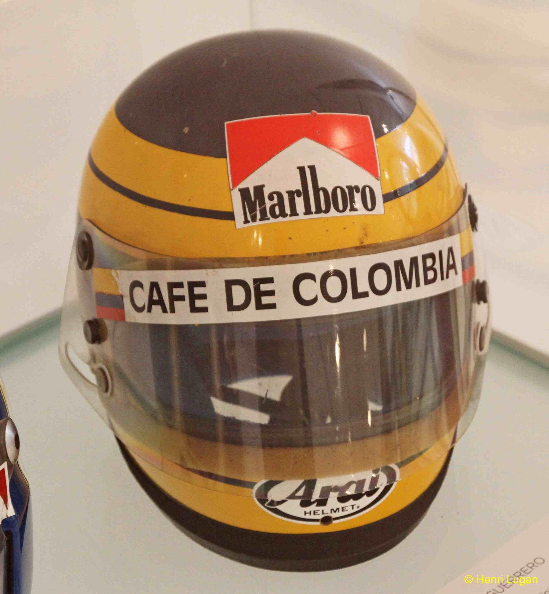 Casque GUERRERO Roberto - 1982 HL_GF
