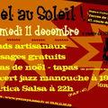 Le samedi 11 décembre,nous serons chez yemaya pour leur 3ème marché de noel!!!!