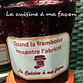 Confiture framboise-abricot