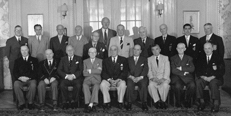 1954 Congrès FIFA Participants
