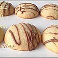Baci di dama - biscuits italiens