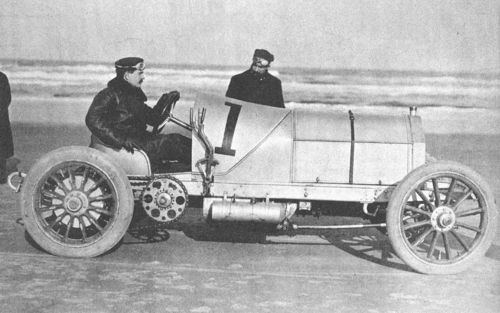 1905 ormond beach - william k vanderbilt (mercedes 90hp)