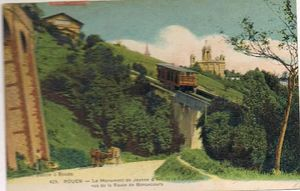 bonsecours le funiculaire